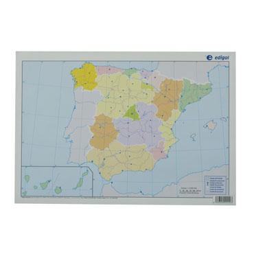 50 láminas color España político 21601049