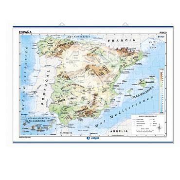 Mapa mural España edigol 21602001