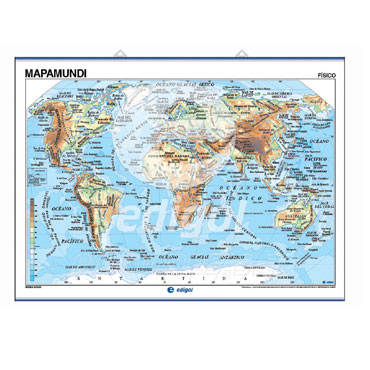 Mapa mural mapamundi edigol 21602010