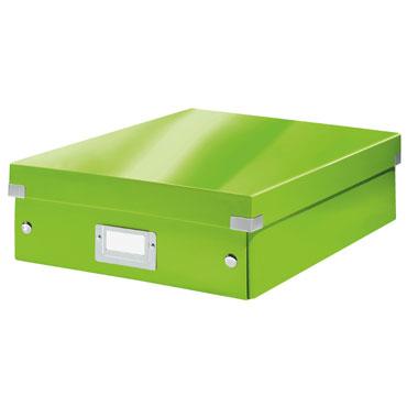 Caja Click & Store mediana verde Leitz 60580054