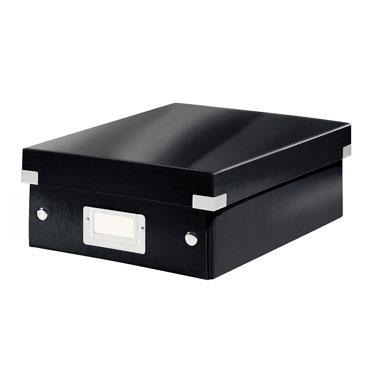 Caja Click & Store mediana negra Leitz 60580095