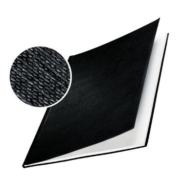 10 tapas Leitz ImpressBind rígidas gofrado lino negras A 73910095