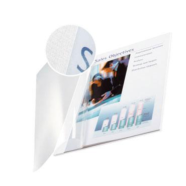 10 tapas ImpressBind flexibles blancas C Leitz &74150001