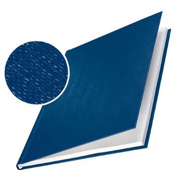 10 tapas ImpressBind rígidas gofrado lino azul F Leitz &73960035