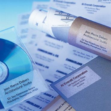 Etiqueta adhesiva transparente 99,1x38,1 mm. 10HJ Din A-4 (280U) Apli 10969
