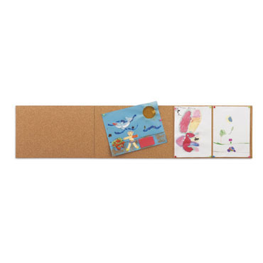 4 láminas corcho 30x45 cm. Faibo 646