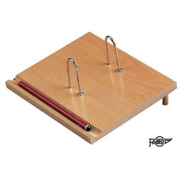 Portabloc calendario madera Faibo 97BNAT