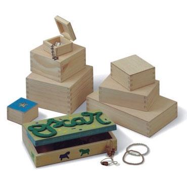 Caja para decorar 12x12x6,5 cm. Faibo 741