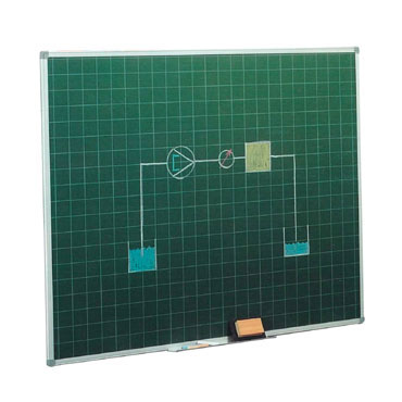 Pizarra verde estratificada cuadriculada 122x200 cm. Faibo 11VCF-5