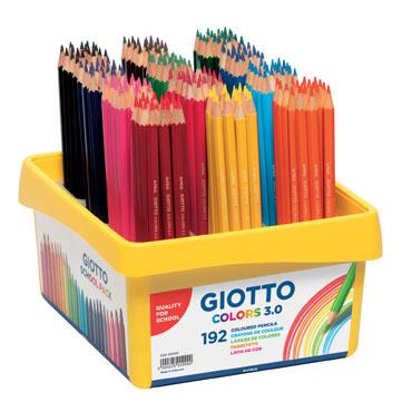192 lápices Colors 3.0 Giotto 523300