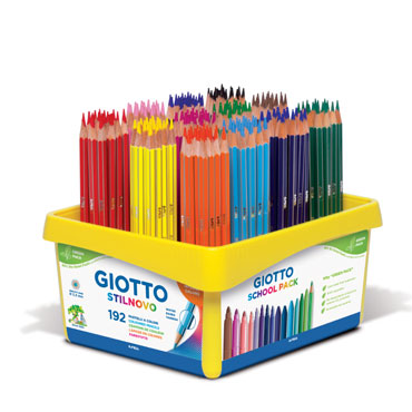 192 lápices de color Stilnovo Giotto F52340000