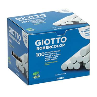 100 tizas blancas Robercolor Giotto 538800