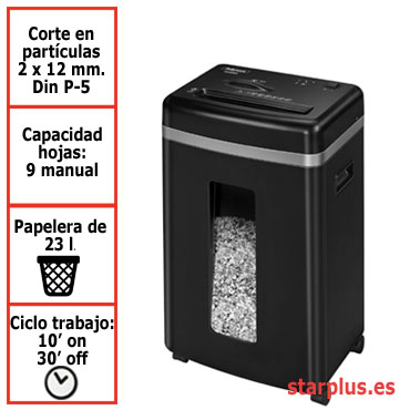Destructora papel Fellowes 450M uso moderado 4074101