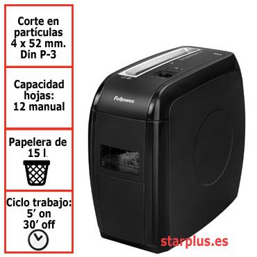 Destructora papel Fellowes 21Cs uso moderado 4360201