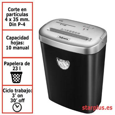 Destructora papel Fellowes 53C uso moderado 4653101