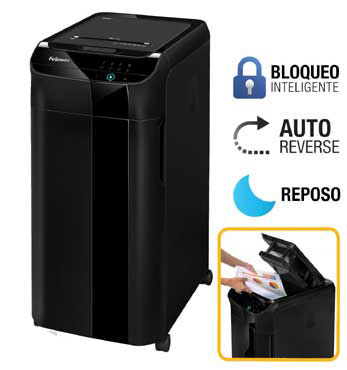 Destructora papel Fellowes Automax 350C automática