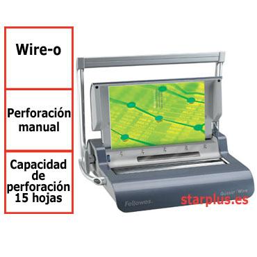 Encuadernadora Fellowes Quasar Wire para wire-o