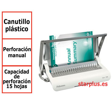 Encuadernadora Fellowes Star+ canutillo  5627501