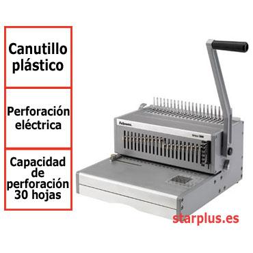 Encuadernadora eléctrica Fellowes Orion E para canutillo de plástico