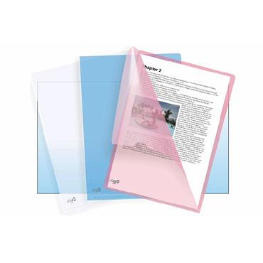 Dossier uñero azul transparente Din A-4 PP Office Box 34928