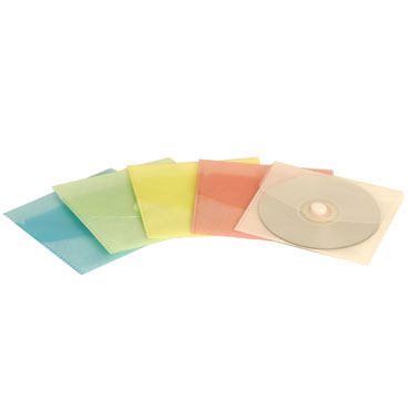 Sobre velcro CD transparente Office Box 90361