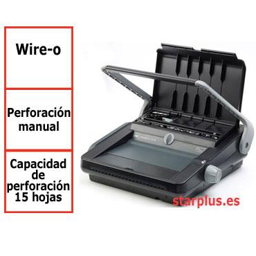 Encuadernadora GBC WireBind W18 para wire-o