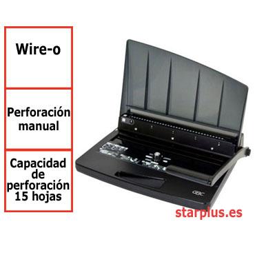 Encuadernadora GBC WireBind W15 para wire-o