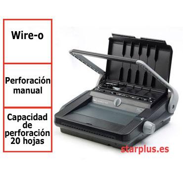Encuadernadora GBC WireBind W20 para wire-o