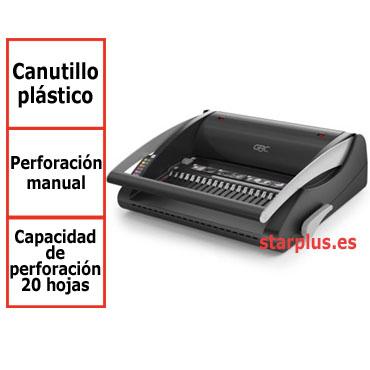 Encuadernadora GBC CombBind C200 para canutillo de plástico