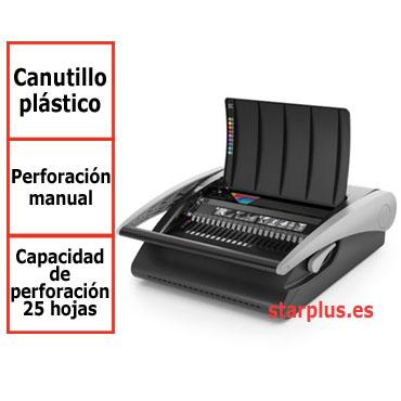 Encuadernadora GBC CombBind C210 para canutillo de plástico