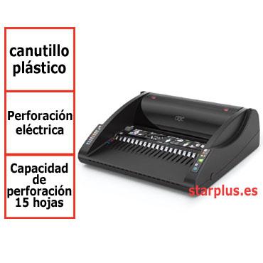 Encuadernadora GBC CombBind C200E para canutillo de plástico