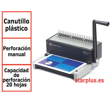 Encuadernadora GBC CombBind C150Pro para canutillo de plástico