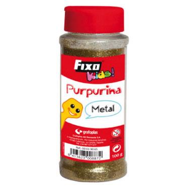 Purpurina metalizada oro 100 g. Fixo 00039065
