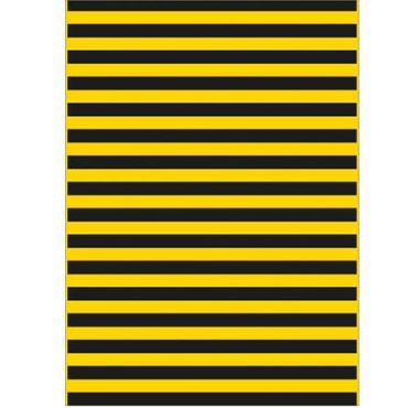 25 bolsas disfraz 56x70 amarillo/negro Fixo 00072301