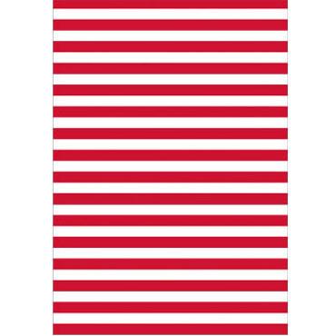 25 bolsas disfraz 56x70 blanco/rojo Fixo 00072304