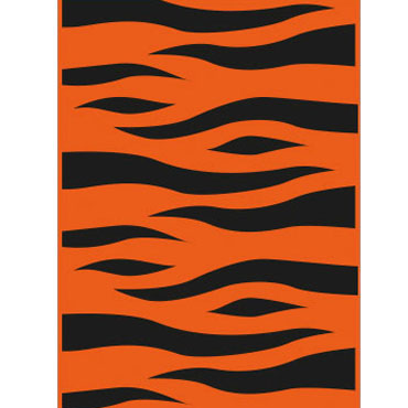 25 bolsas disfraz 56x70 naranja/negro Fixo 00072306