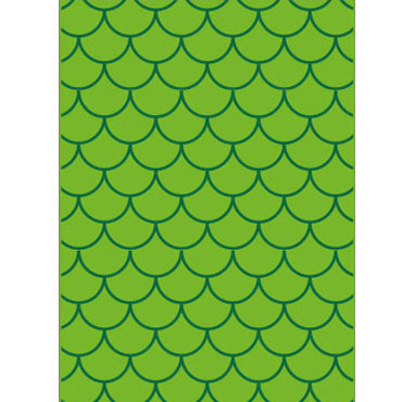 25 bolsas disfraz 56x70 ondas verdes Fixo 00072309
