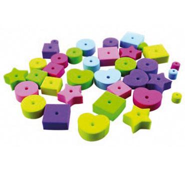 72 formas con relieve de EVA adhesivas Fixo 68001400