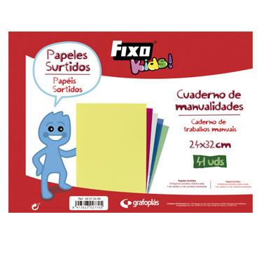 Bloc manualidades 24x32 cm. Fixo Kids 00072499