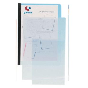 Dossier uñero PVC 150µ Folio transparente Grafoplás 05240300