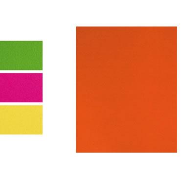 5 láminas EVA fluorescentes naranjas 40x60 cm Fixo 00037152