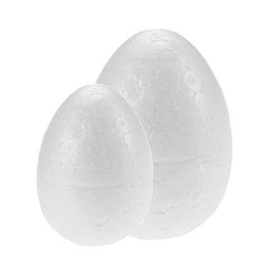 3 huevos poliespán 9 cm. Fixo 68008000