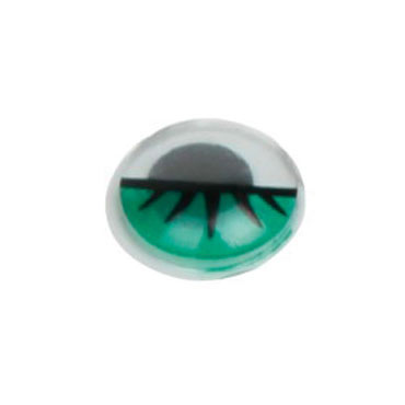 30 ojos verdes ø 15 mm. Fixo 68012200