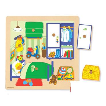 Encaje Habitación 7 piezas Goula 53034