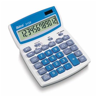 Calculadora 212X Ibico IB410086