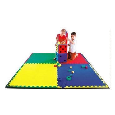Plancha Tapiz EVA amarilla 100x100x2 cm. 23240AM