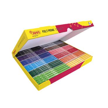144 rotuladores de color Jovi 1699