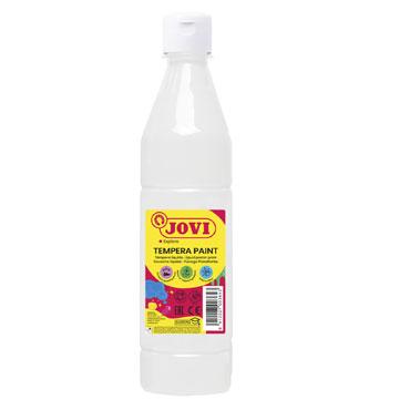 Botella témpera líquida blanca 500 ml.  Jovi 50601