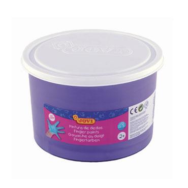 Pintura dedos violeta. Bote de 500 ml. Jovi 56123