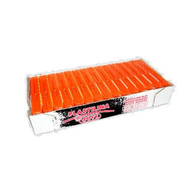15 pastillas plastilina 150 g. naranja Jovi 7104